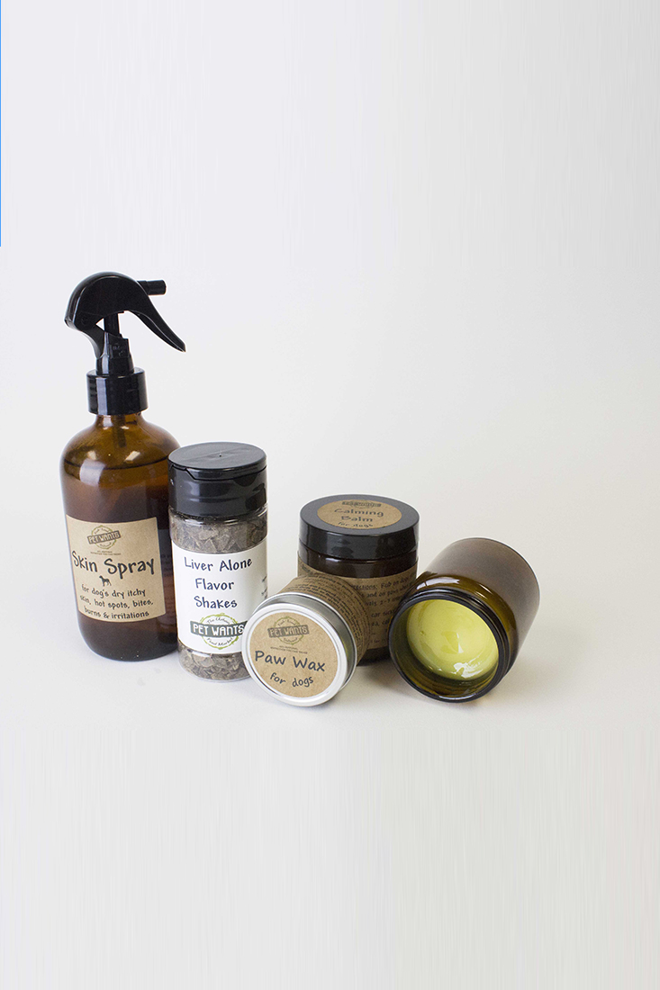 House-Made, Natural Skin Care for Dogs